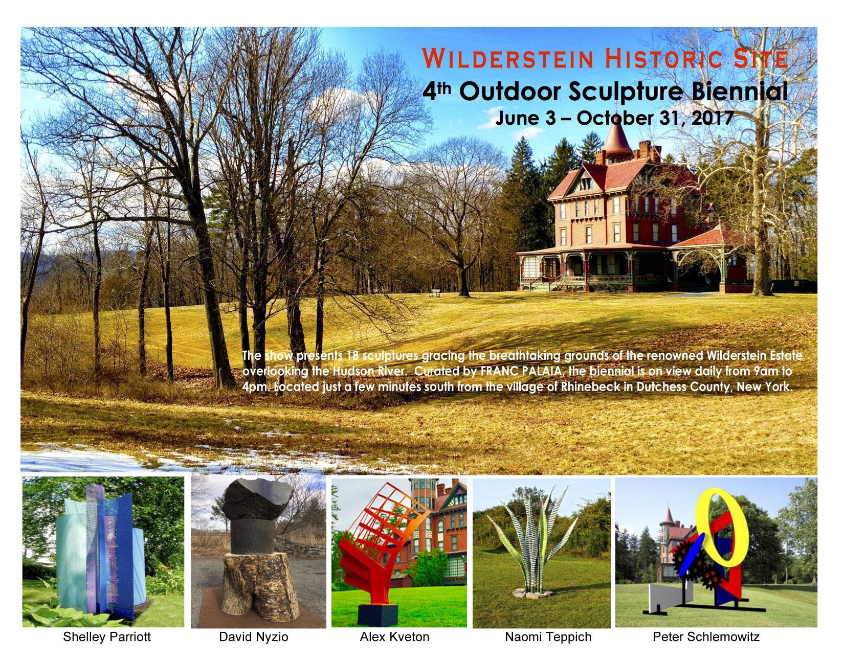 Wilderstein Sculpture Bienial 2017