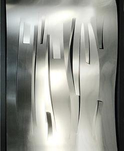 Alex Modern Stainless steel  & bronze wall sculptures