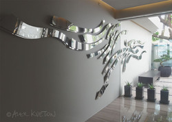Fisher Island-Wall Sculpture