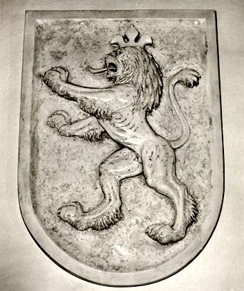 Czech Lion Seal