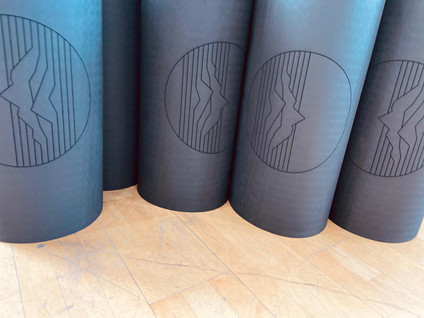 Individualisierte Yoga und Sport Matten