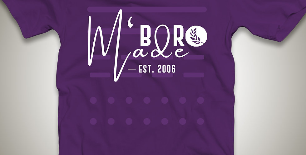 M'boro Only- Purple Unisex OBC M'boro Made T-shirt