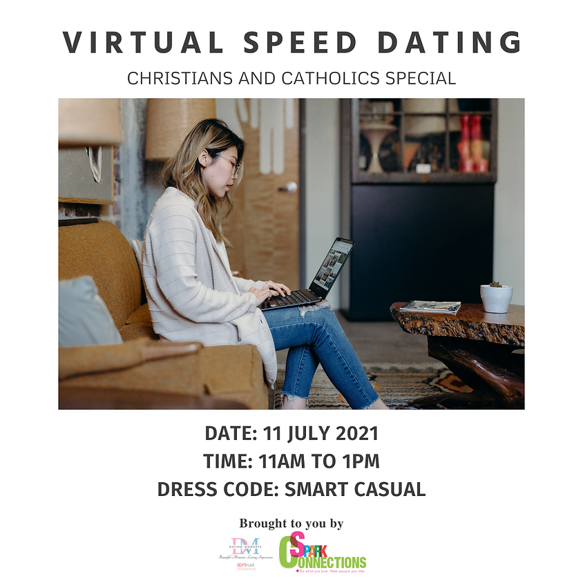 Virtual Speed-Dating Event (Christians and Catholics Special)