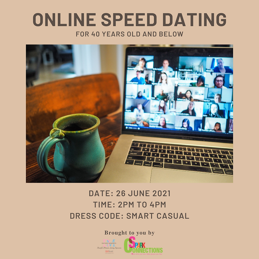 Online Speed Dating: 40 Years Old and Below
