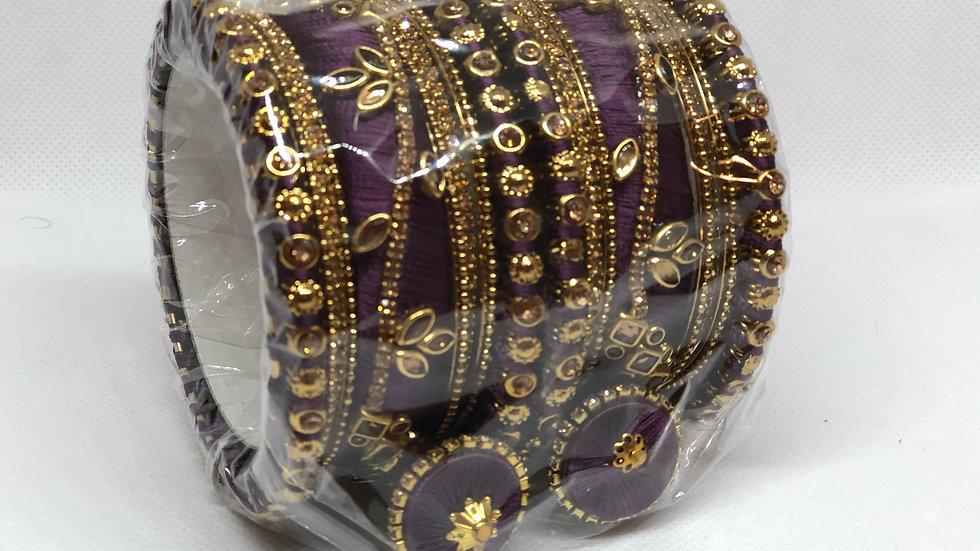 Bangles - Dark Purple - Size 2.8