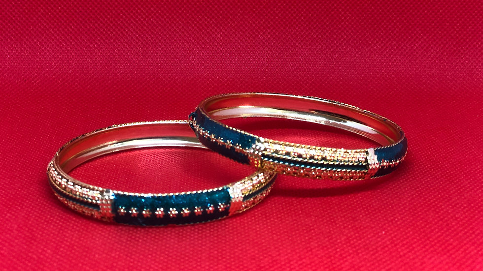 Beautiful bangles with Blue color