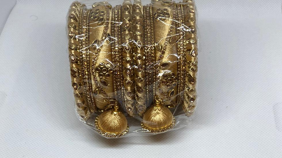 Bangles - Golden color - Size 2.6