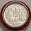 Thumbnail: Pure silver Trimurti coin