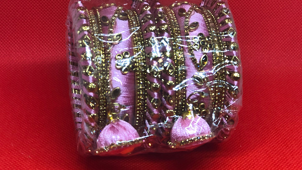 Bangles - Light Pink - Size 2.6