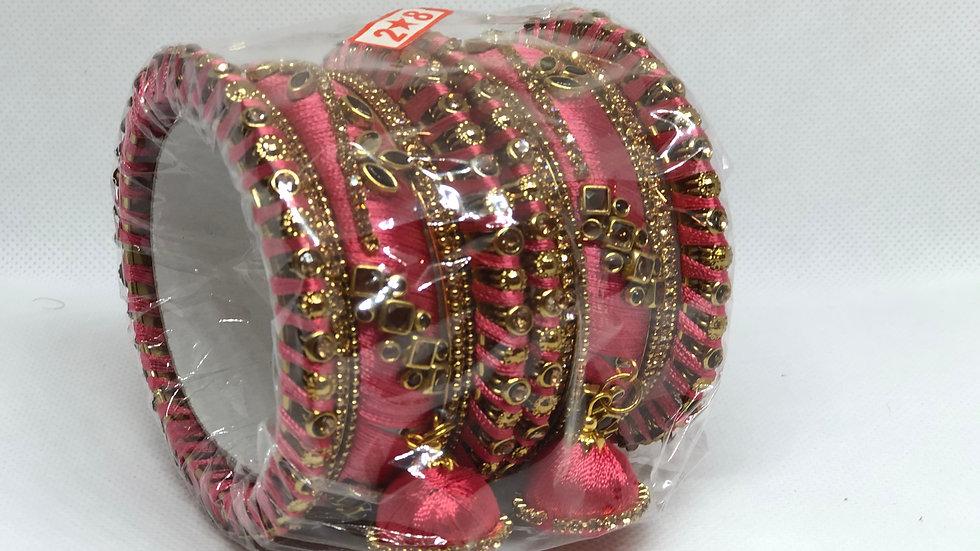 Bangles - Medium Pink - Size 2.8
