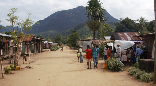 Village of Mandena near Marojejy nationa