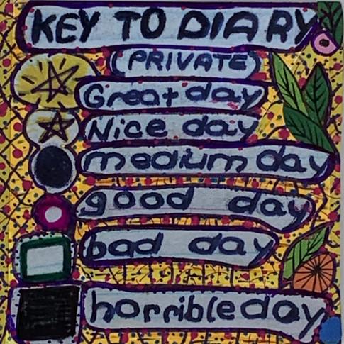 """""""Key To Diary"""""""