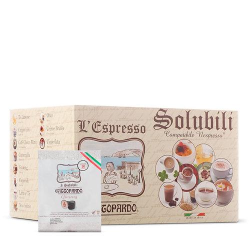 80 Nespresso-kompatible Gattopardo Ginseng Kaffeekapseln [0,17 € / Kapsel]