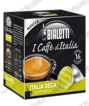 16 capsules Bialetti coffee from Italy Deka (Balanced Taste) [0,28 € / capsule]