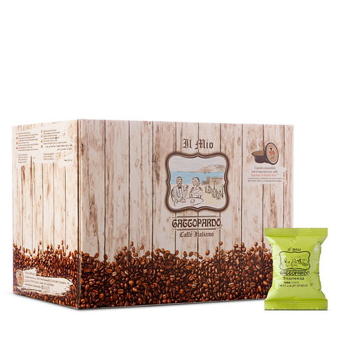 100 coffee capsules my Insomnia Leopard compatible A WAY [€ 0.13 / capsule]