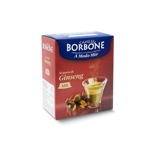 128 Borbone ginseng compatible coffee capsules MY WAY [0,18 € / capsule]