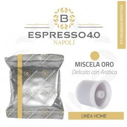 80 capsules Barbaro coffee blend gold blend compatible hyperespresso