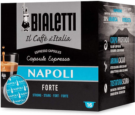 16 capsules Bialetti coffee from Italy Naples (Strong Taste) [0,28 € / capsule]