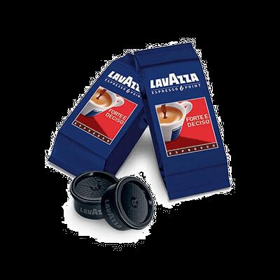 100 Lavazza forte compatible ESPRESSO POINT coffee capsules [€ 0.16 / capsule]