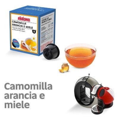 10 caps. Ristora chamomile Orange & Honey compatible DOLCE GUSTO [0,28 € / capsule]