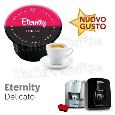 50 caps coffee delicate Eternity compat LAVAZZA BLUE AND BLACK [0,13 € / capsule]