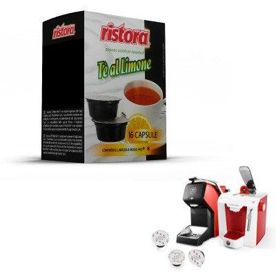 32 Ristora compatible lemon tea capsules LAVAZZA MY WAY [0,15 € / capsule]