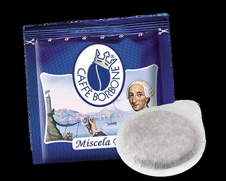 100 Ese-Hülsen 44 mm blauer Bourbon-Papierfilter [0,14 € / Hülse]