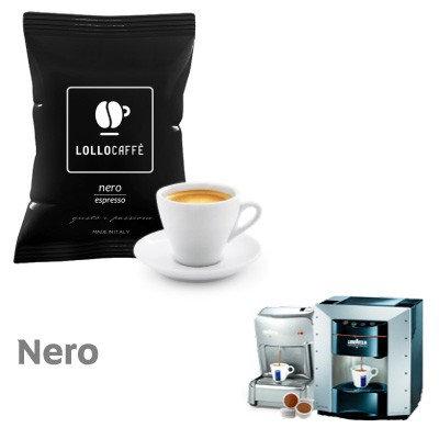 100 Lollo black taste compatible capsules LAVAZZA ESPRESSO POINT [0,13 € / capsule]