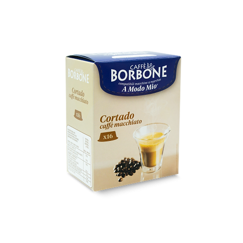 128 Borbone macchiato coffee capsules compatible IN MY WAY [0,18 € / capsule]