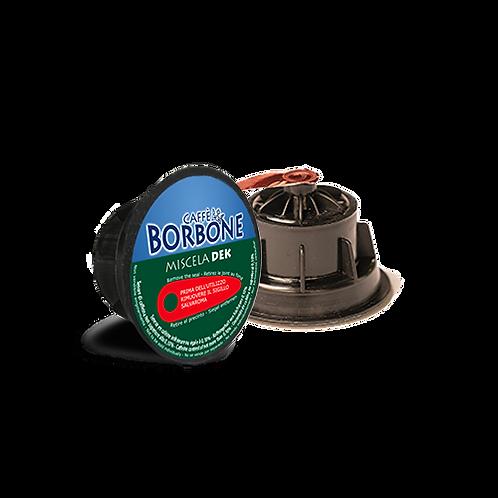 90 Kapseln Bourbon entkoffeinierte Mischung kompatibel DOLCE GUSTO [0,23 € / Kapsel]
