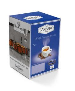 100 Kaffeekapseln Barbaro cremig Napoli kompatibel SIGNATUR [0,21 € / Kapsel]