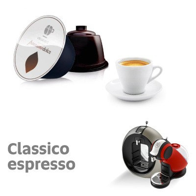 48 caps. Classic Lollo (3 packs of 16) compatible DOLCE GUSTO [0,14 € / caps]