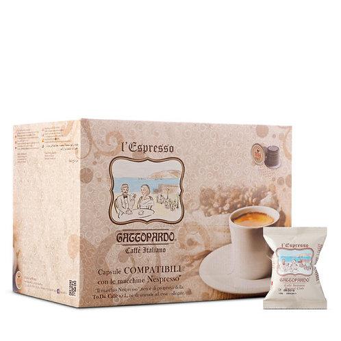 100 Kapseln Kaffee Special Club Gattopardo kompatibel NESPRESSO [0,16 € / Kapsel]