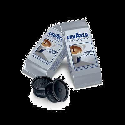 100 Lavazza aroma-taste compatible coffee capsules ESPRESSO POINT [€ 0.15 / capsule]