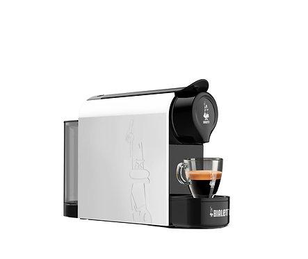 Gioia Macchina Espresso  BIANCA a Capsule Bialetti + 48 Capsule (OFFERTA)
