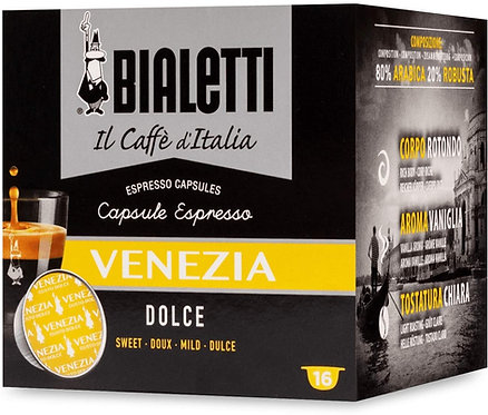 128 capsules Bialetti Italian coffee Venice (Sweet Taste) [€ 0.27 / capsule]