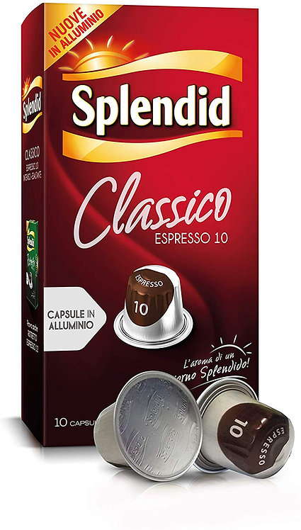 100 Splendid compatible classic coffee capsules NESPRESSO [€ 0.20 / capsule]