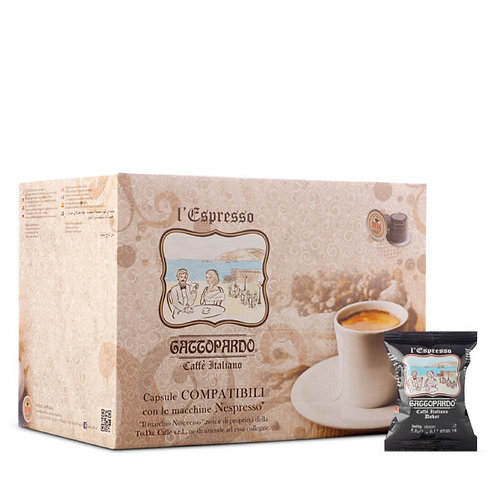 100 Gattopardo Darak Kaffeekapseln kompatibel mit NESPRESSO [0,14 € / Kapsel]
