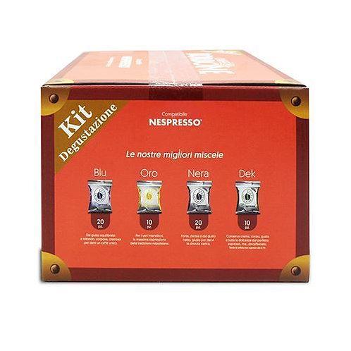 60 Bourbon Kaffeekapseln kompatibles Verkostungsset NESPRESSO [0,16 € / Kapsel]