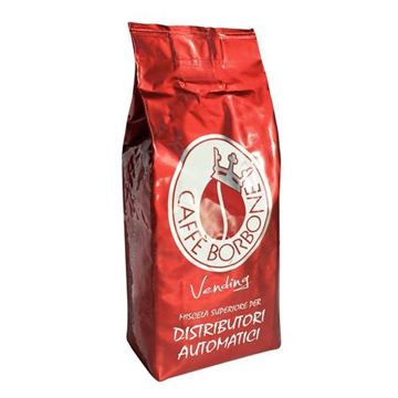 1 kg caffè in grani Borbone Vending miscela rossa