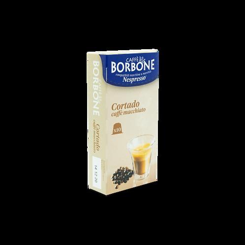 60 Kaffeekapseln Cortado Borbone kompatibles NESPRESSO [0,18 € / Kapsel]
