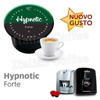 50 caps strong coffee hypnotic compat LAVAZZA BLUE AND BLACK [0,13 € / capsule]