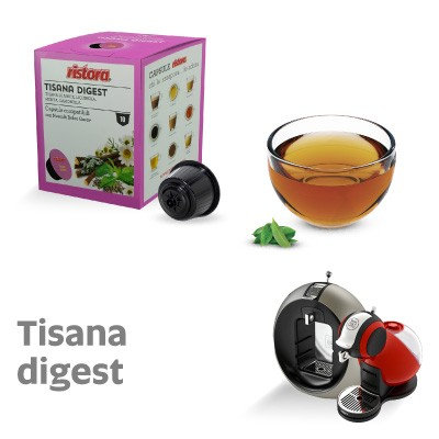 10 caps. Digestive herbal tea compatible NESCAFé DOLCE GUSTO [0,28 € / capsule]