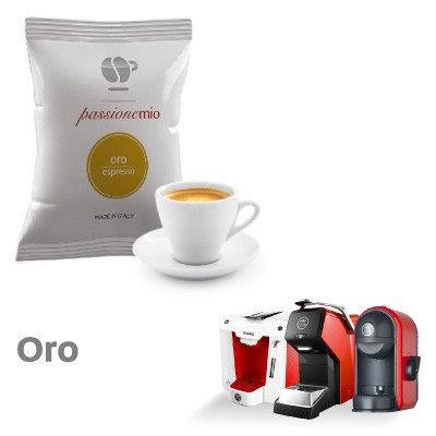 100 Lollo compatible gold coffee capsules LAVAZZA MY WAY [0,15 € / capsule]