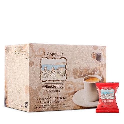 100 capsule caffè gusto ricco Gattopardo compatibili NESPRESSO [0,14€/capsula]