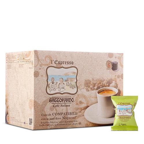 100 Insomnia Gattopardo coffee capsules compatible with NESPRESSO [€ 0.13 / capsule]