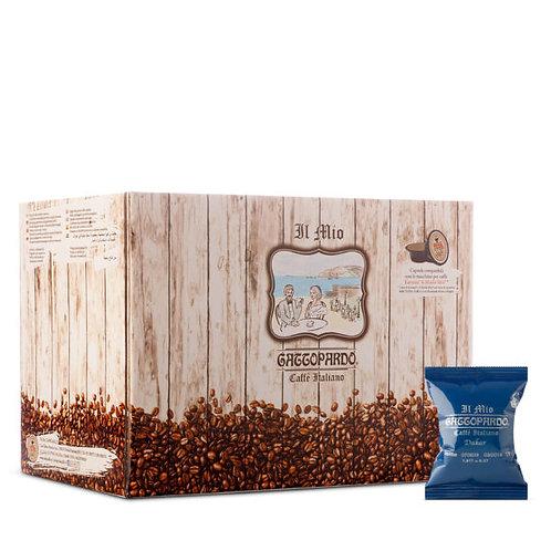 100 Kaffeekapseln Dakar Leopard kompatibel MEIN WEG [0,14 € / Kapsel]