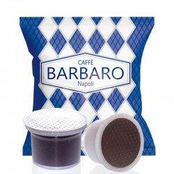100 Kapseln Barbaro Kaffee cremige Mischung Neapel kompatibel MITACA