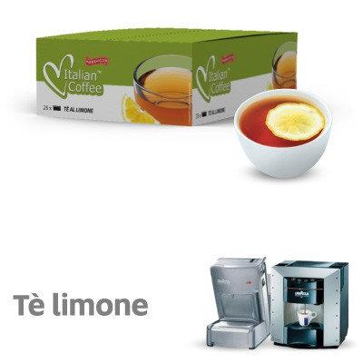 25 capsule tè limone compatibili espresso point