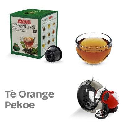 10 caps. Restaurant Orange Pekoe tea compatible NESCAFé DOLCE GUSTO [0,28 € / capsule]